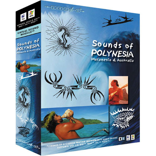 EastWest Sounds of Polynesia Virtual Sound Module