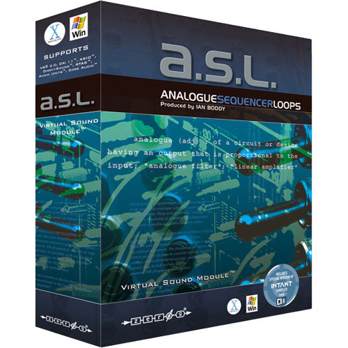 "Zero-G ASL ""Analogue Sequencer Loop"" - Virtual Sound Module"