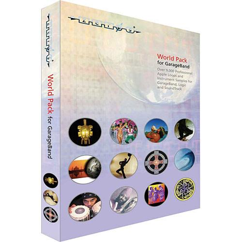 Zero-G Sample DVD: World Pack (ACID and WAV)