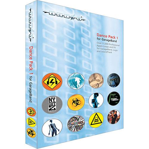 Zero-G Sample DVD: Dance Pack 1 (WAV and ACID)