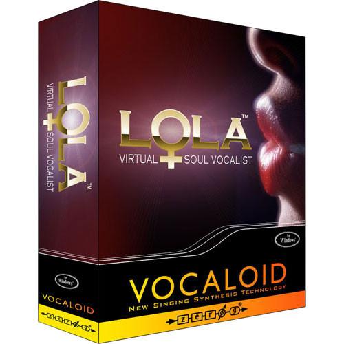 Zero-G LOLA Vocaloid Virtual Female Vocalist