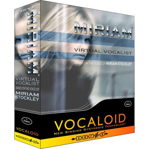 Zero-G MIRIAM Vocaloid Virtual Female Vocalist