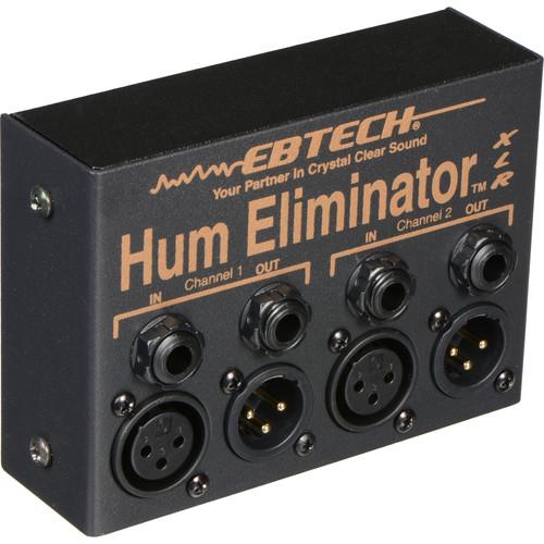 Ebtech HE-2-XLR - Dual Channel Hum Eliminator with XLR Connectors