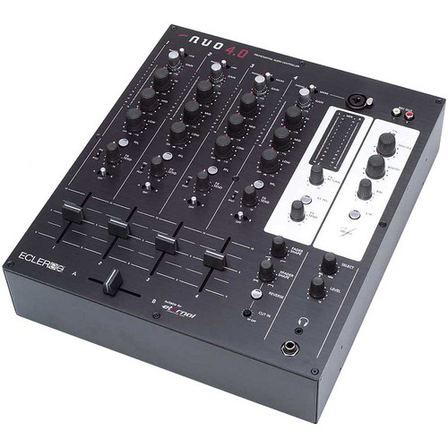 Ecler NUO 4.0 Professional 4-Channel DJ Mixer