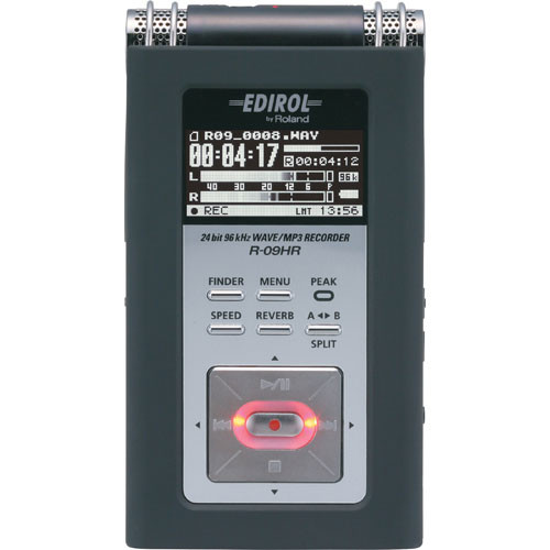 Edirol / Roland R-09HR Portable High-Resolution Audio Recorder