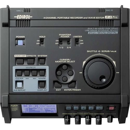 Edirol / Roland R-4 Pro 4 Channel Portable Field Recorder w/ SMPTE Time Code