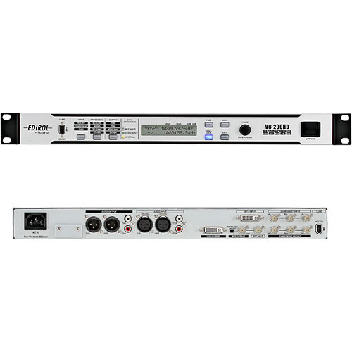 Edirol / Roland VC-200HD Bi-Directional Multi-Format Converter with Audio Delay