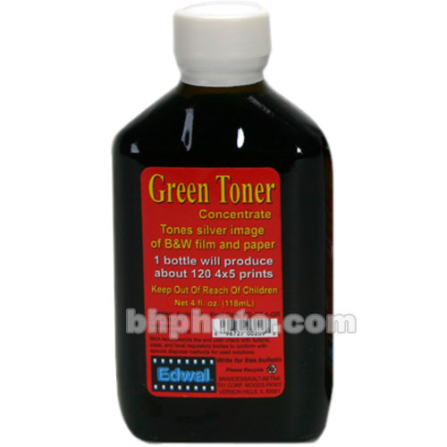 Edwal Toner for Black and White Prints (4 oz, Green)