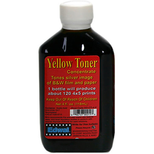 Edwal Toner for Black and White Prints (4 oz, Yellow)