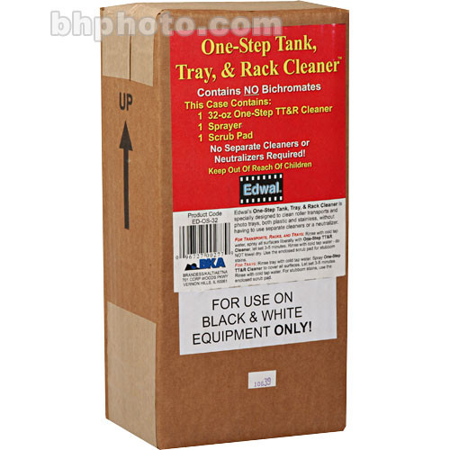 Edwal One-Step Tank, Tray and Rack Cleaner 32oz