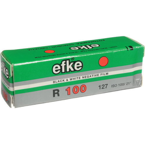 Efke 127 R100 Black and White Negative or Reversal Film