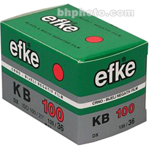 Efke KB100 Black and White 135-36 Size Film