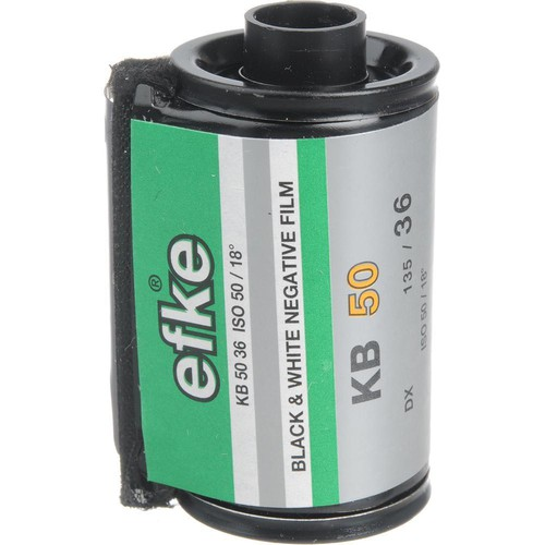 Efke KB50 Black and White 135-36 Size Film