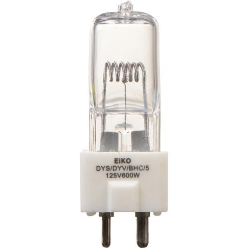 Eiko DYS/DYV/BHC/5 Halogen Lamp (125V, 600W)