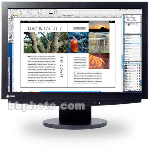 "Eizo ColorEdge CE210W 21.1"" Widescreen LCD Monitor with Dual DVI-I Input (Black)"