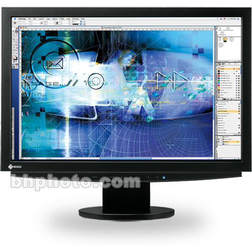 "Eizo ColorEdge CE240W 24.1"" Widescreen LCD Monitor with Dual DVI-I Input (Black)"