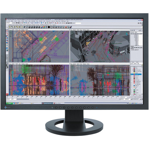 """Eizo FlexScan SX2262W 22"""" LCD Computer Display with EasyPIX Color Matching Tool Kit"""