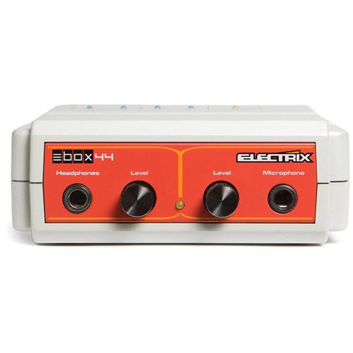 Electrix E-Box 44 - Portable 4-Channel USB Audio Interface