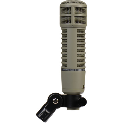 Electro-Voice RE20 Broadcast Announcer Microphone with Variable-D (Fawn Beige)