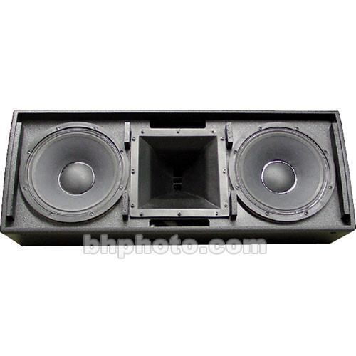 """Electro-Voice QRx-212H/75 - 2-Way Dual 12"""" P.A. Loudspeaker - Black"""