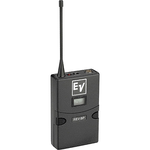 Electro-Voice REV-BP Bodypack Transmitter for REV Series Wireless Microphone System (C1 Band 614 - 638 MHz / TV Chs. 37-41)