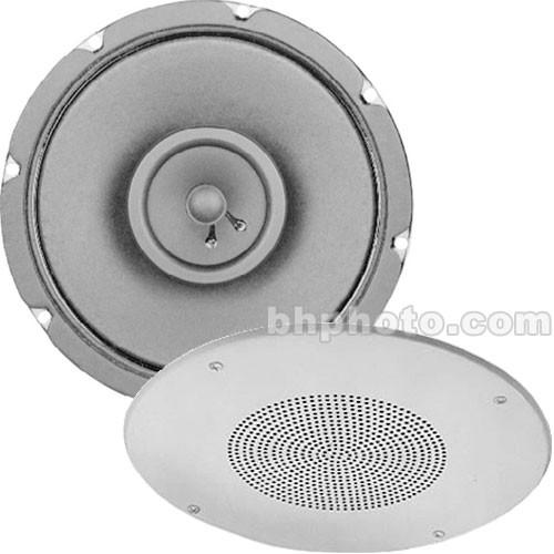 "Electro-Voice 309-8TWB -16W  8"" Coaxial Ceiling Speaker w/Xformer - White Baffle"
