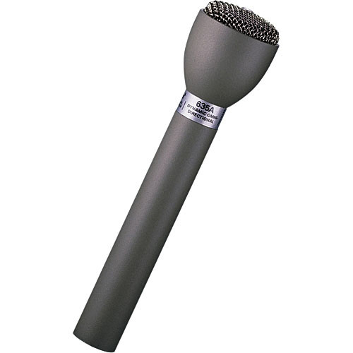 Electro-Voice 635A/B - Omnidirectional Handheld Dynamic ENG Microphone (Black)
