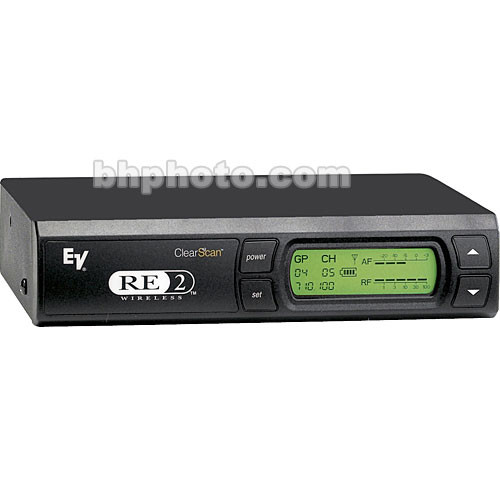 Electro-Voice RE-2Pro Wireless UHF Diversity Receiver (Band A - 648 - 676 MHz)