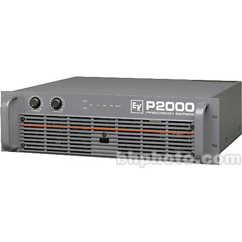 electro voice p2000 precision series power amplifier d170017 b h. Black Bedroom Furniture Sets. Home Design Ideas