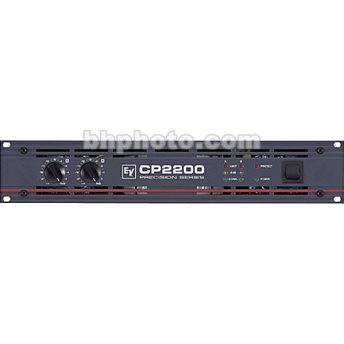 Electro-Voice CP2200 - 2-Channel Rack-Mount Power Amplifier