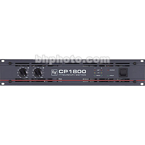 Electro-Voice CP1800 - 2-Channel Rack-Mount Power Amplifier