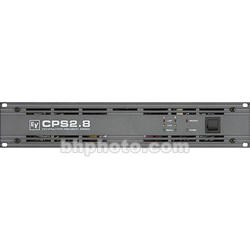 Electro-Voice CPS 2.8 - 2-Channel Power Amplifier - 800W per Side at  4 Ohms