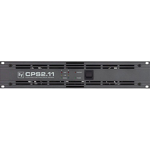 Electro-Voice CPS 2.11 - 2-Channel Power Amplifier - 1100W per Side at  4 Ohms