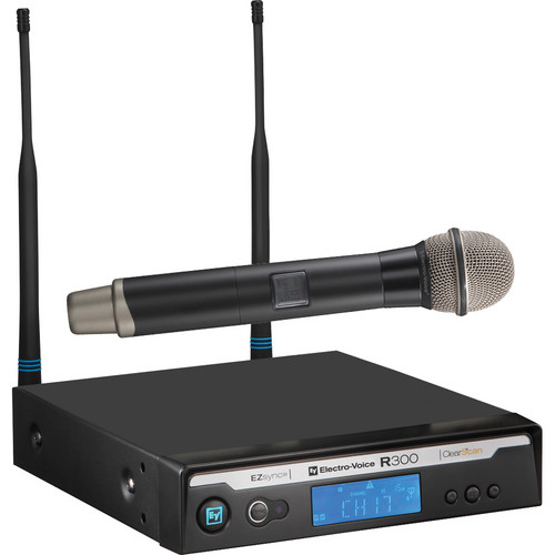 Electro-Voice Wireless Handheld Microphone System