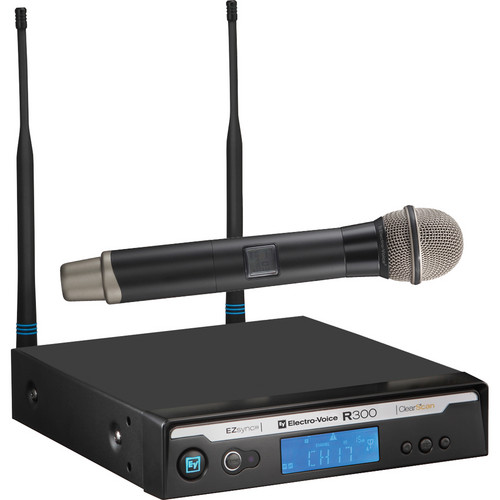 Electro-Voice R300-HD Handheld Wireless Microphone System (Frequency Band B)