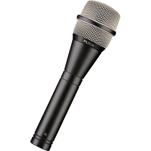 Electro-Voice PL80A Handheld Dynamic Vocal Microphone for Stage