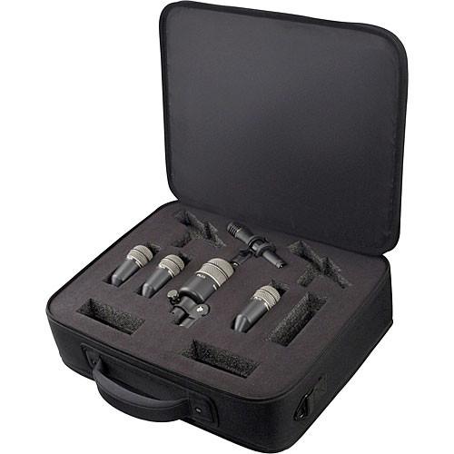 Electro-Voice PL DK4 Plus - 5-Piece Drum Microphone Package