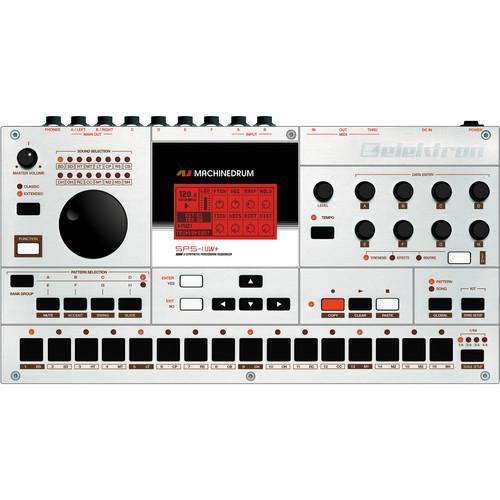 Elektron Machinedrum SPS-1UW+ MKII Drum Machine, Synthesizer & Sequencer (Sampling)