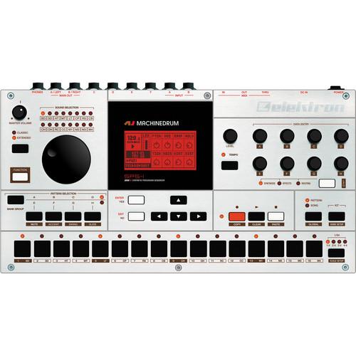 Elektron Machinedrum SPS-1 MKII Drum Machine, Synthesizer & Sequencer