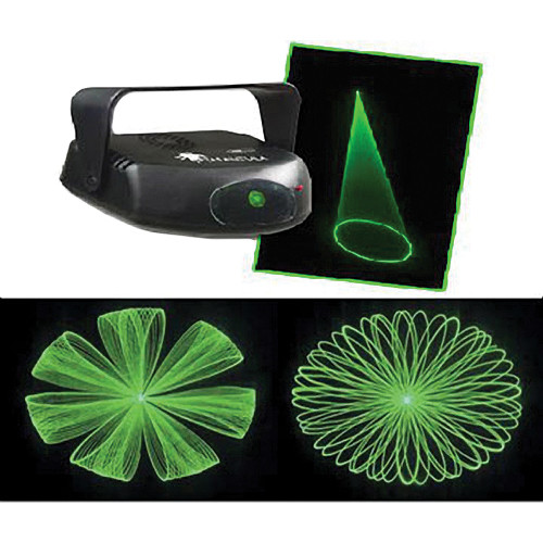 Eliminator Lighting Tarantula Green Sound-Activated Laser (120VAC)