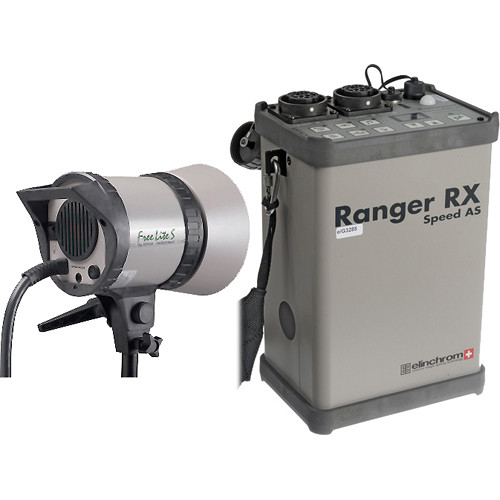 "Elinchrom Ranger RX-AS Kit with ""S"" Head"