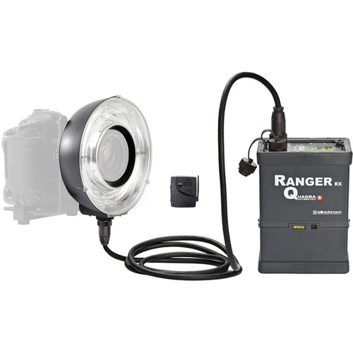 Elinchrom Ranger Quadra Ready-to-Go Battery - Eco-Ringflash Set