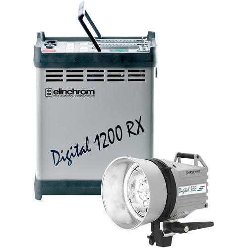 Elinchrom Digital RX 1200 Pack with SEE Head
