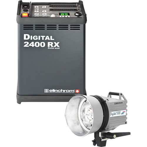 Elinchrom Digital RX 2400 Pack with SEE Head