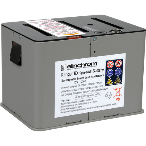 Elinchrom Battery with Holder for Ranger RX Speed AS Pack