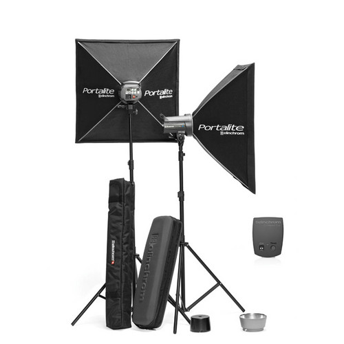 Elinchrom D-Lite-2 IT 200Ws 2-Light To Go Set (90-260VAC)
