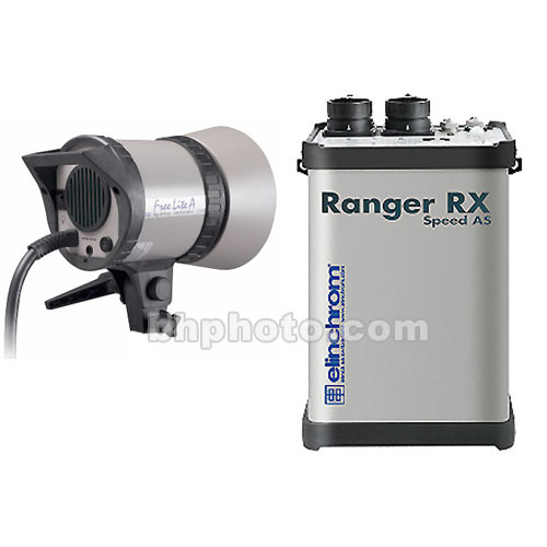 Elinchrom Ranger RX AS 1100W/s Kit with Ranger A Flash Head