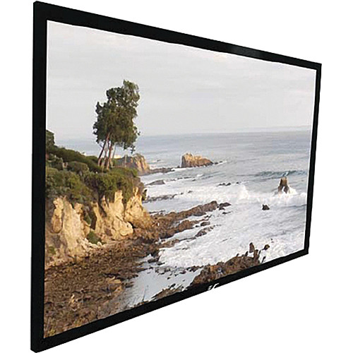 "Elite Screens ER106WH1 Sable Fixed Frame Projection Screen (51.9 x 92.2"")"
