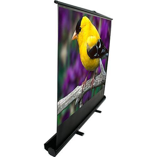 "Elite Screens F100XWV1 ezCinema Plus Portable Front Projection Floor Screen (60 x 80"")"