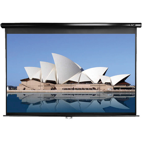 "Elite Screens M109UWX Manual Series Projection Screen (57.8 x 91.4"")"
